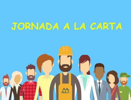 SOLICITUD DE JORNADA A LA CARTA – NO ES OBLIGATORIO ACREDITAR LAS CAUSAS
