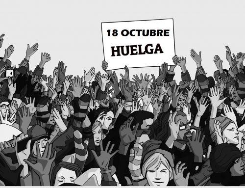 CONVOCATORIA HUELGA GENERAL EN CATALUNYA 18 DE OCTUBRE DE 2019