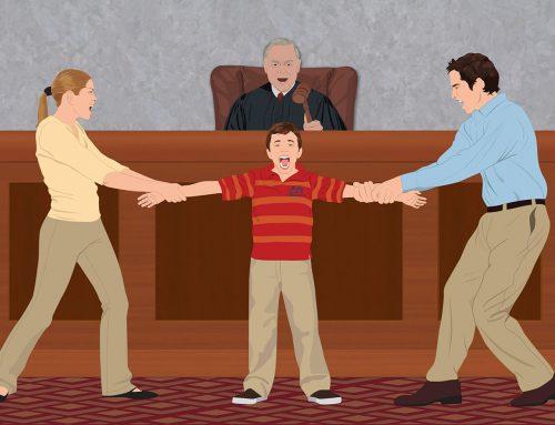 ACUERDO DE LOS JUECES : LOS HIJOS DE DIVORCIADOS, CON UNO DE LOS PADRES